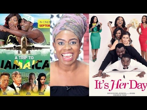 The Screening Room: A Trip to Jamaica vs. It's Her Day - Nollywood Movies