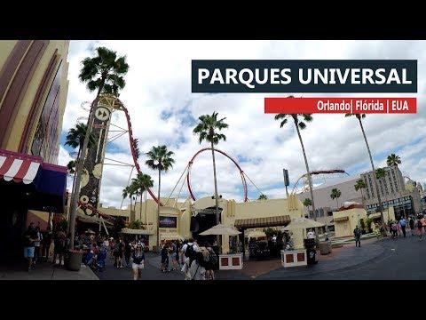 Experimentando os parques da Universal em Orlando