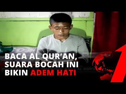 Akbar Bocah Pemulung Baca Al Qur'an di Trotoar, Suaranya Bikin Adem Hati | tvOne