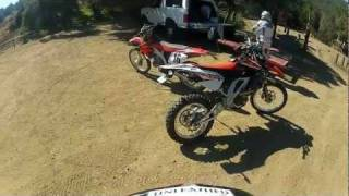7. APRILIA RXV 550 TEST IN WILDOMAR CA