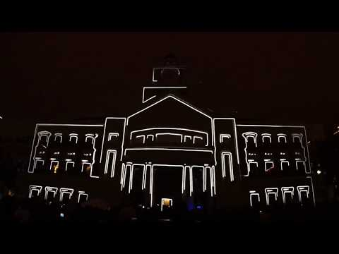 LD Systems – New Years Eve 2010 – 3D Projection Mapping – Sugar Land, TX