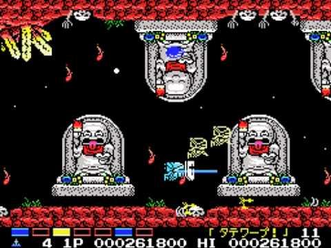 Parodius - Tako Saves Earth (1988, MSX, Konami)