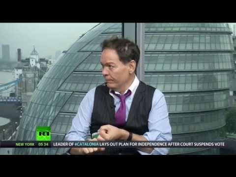 IN - In this episode of the Keiser Report, Max Keiser and Stacy Herbert discuss the house price riots in Hong Kong which could be the trigger for the next Minsky moment in the global financial ponzi...