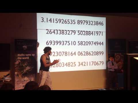100 digits of pi...easy