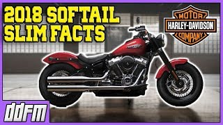 1. 2018 Harley Davidson Softail Slim Specs and Info