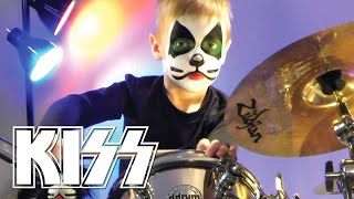 KISS 20 Album Drum Tribute Image