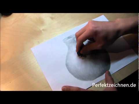 Motive Perfekt Zeichnen Lernen Online: Vase Zeichnen Stillleben Vorlage