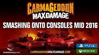 Видео Carmageddon: Max Damage