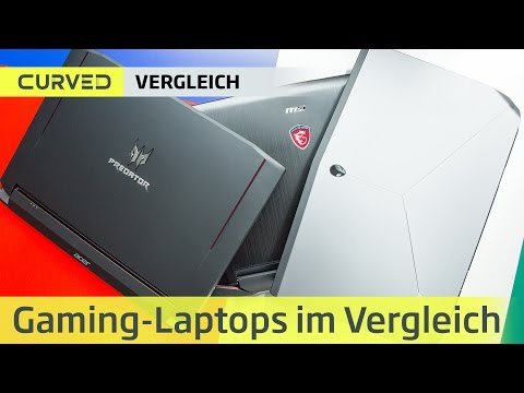 Gamer-Laptops im Test: Alienware 17 vs. Acer Predator vs. MSI GT80S | deutsch