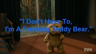 Highlights From The TV Version Of Ted (2012) (600th Subscriber Special)