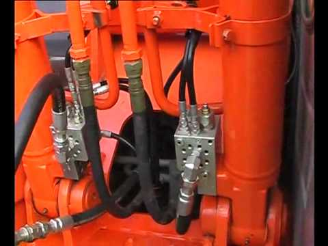 Hydraulic Specialties SAFEX™ Valve - Excavator Hose Burst Valve Test Video