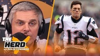 Colin Cowherd guesses what Tom Brady actually revealed in Howard Stern interview | NFL | THE HERD by Colin Cowherd