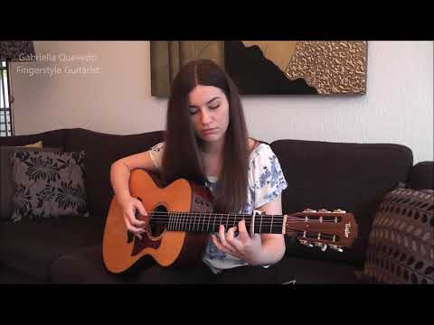 "Ed Sheeran  ""I See Fire"" Cover by Gabriella Quevedo"