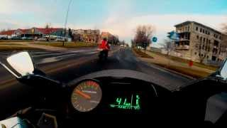 4. Hyosung GT125R Onboard - Acceleration -  IXIL Exhaust - GoPro 3+ Silver [HD]