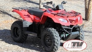 9. ATV Television - 2013 Suzuki King Quad 400ASi Test