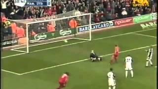John Arne Riises Freistoßtor gegen Manchester United
