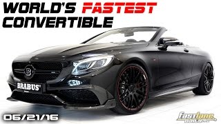 World's Fastest 4-Seat Convertible, Bentley Barnato, Wireless Car Charging - Fast Lane Daily by Fast Lane Daily