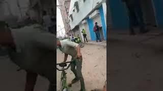 Con disparos y piedras, venezolanos se enfrentaron con la Policía frente a Terminal de Transporte de Soledad