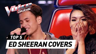 Video The Voice | BEST ED SHEERAN Blind Auditions [PART 2] MP3, 3GP, MP4, WEBM, AVI, FLV Oktober 2017