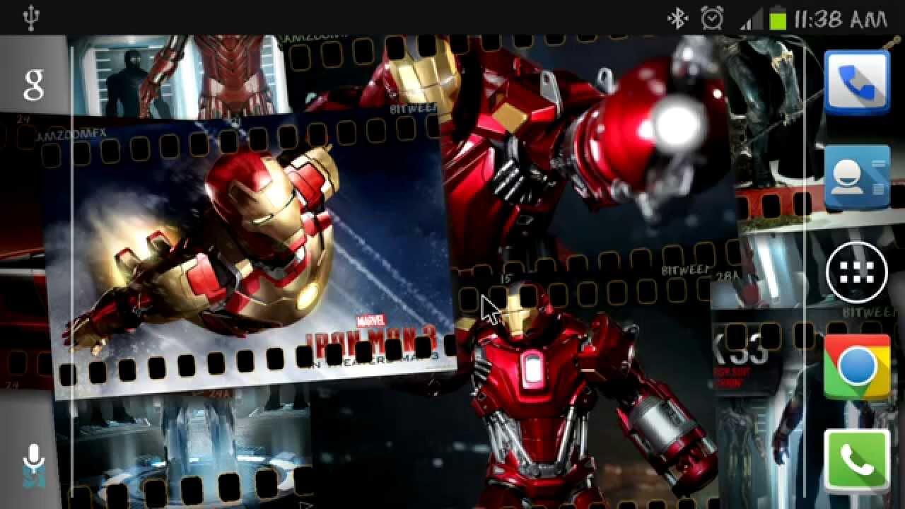 Descargar 5 excelentes fondos de pantalla animados  para tu android para celular #Android