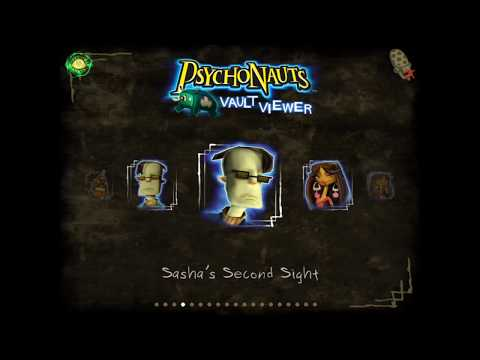 Psychonauts Vault Viewer - video archive edition