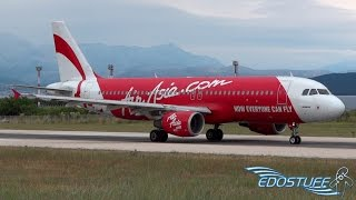Video Incredibly RARE! AirAsia / CSA Czech Airlines Airbus A320 Takeoff from Split Airport SPU/LDSP MP3, 3GP, MP4, WEBM, AVI, FLV Agustus 2018