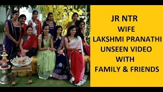 Video Jr NTR Wife Lakshmi Pranathi Unseen Video with Family and Friends MP3, 3GP, MP4, WEBM, AVI, FLV April 2019