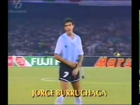 Italy 1990 - Semi Finals - Argentina 1 - 1 Italy (4 - 3 pens)
