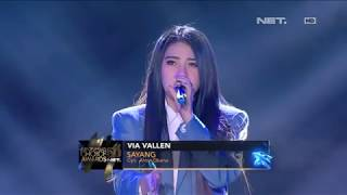 Video Via Vallen ft Boy William - Sayang I ICA 5.0 NET MP3, 3GP, MP4, WEBM, AVI, FLV Maret 2019