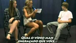 Justin Bieber Really Funny Interview haha