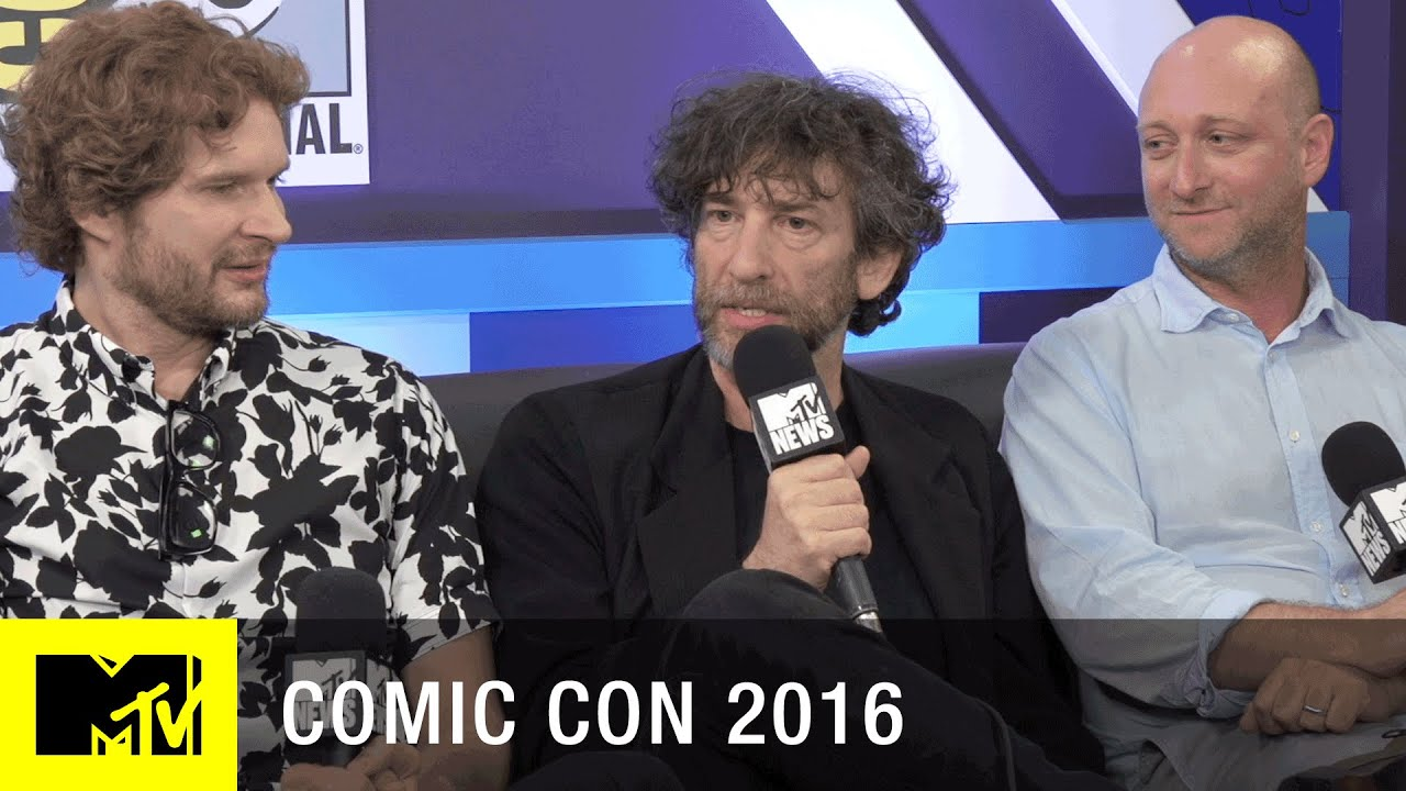 Neil Gaiman Hopes For 'Sandman' Movie | Comic Con 2016 | MTV