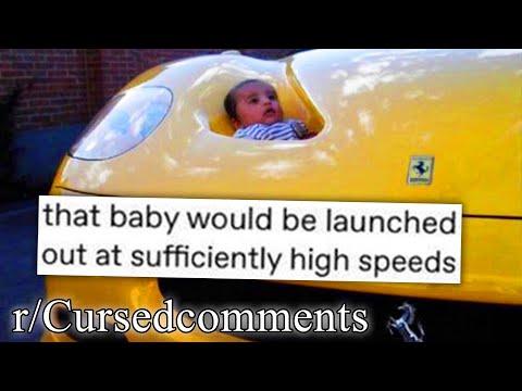 r/Cursedcomments | not the safest car