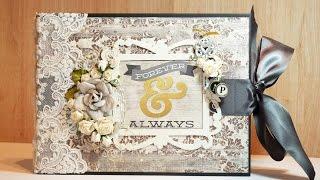 Scrapbook Wedding Album
