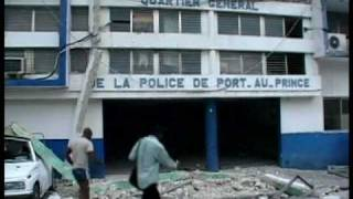 """""""CBS News RAW"""": daytime pictures of the aftermath of the Tuesday's earthquake in Haiti. There were crying victims among the..."""