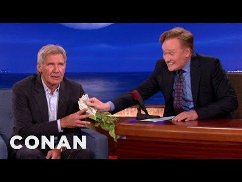 Harrison Ford bere úplatky u Conana