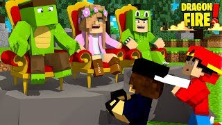 DRAGON COUNCIL MEETING | FIRST EVER DRAGON TRIAL! | Minecraft Dragon Fire |Little Kelly