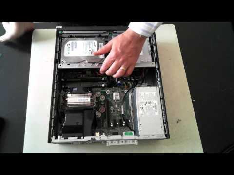HP ProDesk 400 G1 Teardown / Opening / Upgrading