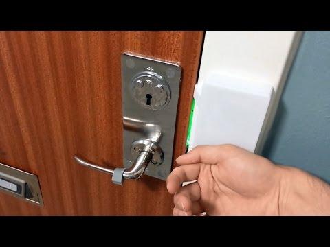 Raspberry Pi RFID door lock + NFC chip implant