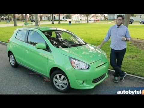 2014 Mitsubishi Mirage Test Drive Video Review