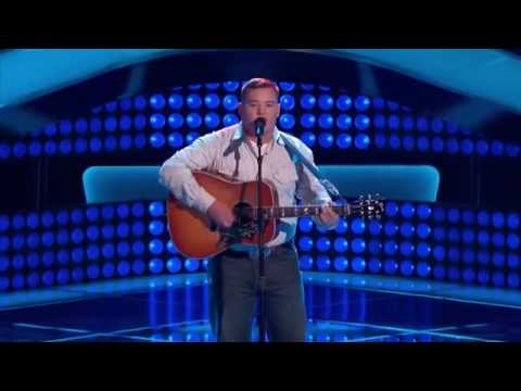 Jake Worthington -  Don't Close Your Eyes - the voice  - Full performance