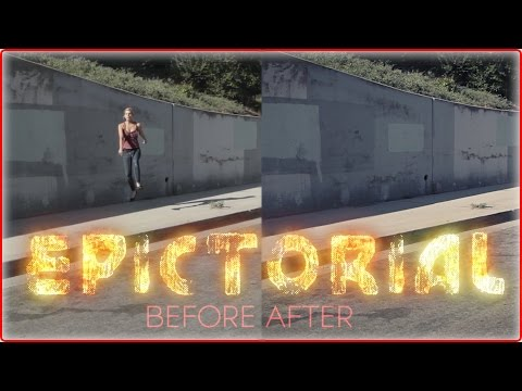 After Effects - Download link for the raw original footage: http://download938.mediafire.com/28vqk94l2urg/xf29hyl3u91927q/TUTORIAL_original+footage.mov (Note: The video has ...