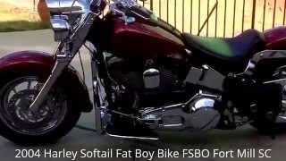 8. Used 2004 Harley-Davidson Softail Fat Boy Motorcycle For Sale|Fort Mill SC Charlotte NC