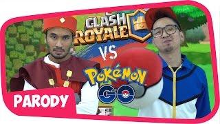 Video CLASH ROYALE vs POKEMON GO !! [ one minute rap battle ] MP3, 3GP, MP4, WEBM, AVI, FLV Mei 2017