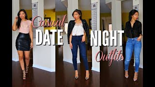 Video CASUAL DATE NIGHT OUTFITS | 5 DATE OUTFIT IDEAS + LOOKBOOK | HOW TO LOOK STYLISH ON A DATE MP3, 3GP, MP4, WEBM, AVI, FLV Oktober 2018