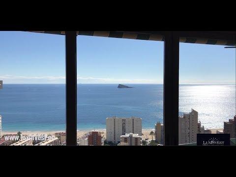 Квартира в Испании с панорамным видом на море и Бенидорм!