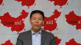 對華援助協會傅牧師聲援台灣盡速通過難民法錄影講話