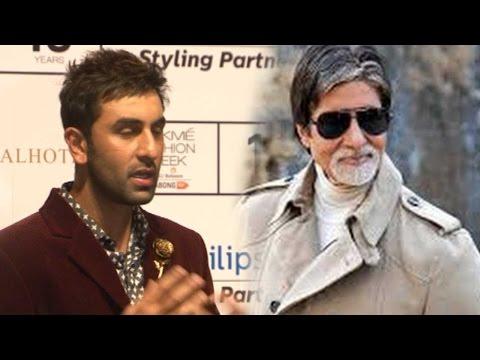 Ranbir Kapoor Confesses On Amitabh Bachchan