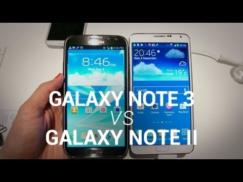 Comparison - Samsung Galaxy Note 3 vs. Galaxy Note II - Quick Comparison If you own a Galaxy Note II, chances are you want to know how it stacks up against the Galaxy Not...