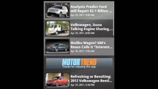MOTOR TREND News YouTube video