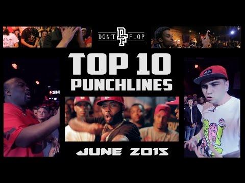 DON'T FLOP: TOP 10 PUNCHLINES | JUNE 2015 @DontFlop